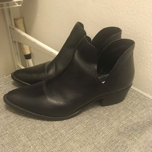 Steve Madden Ankle Cutout Booties